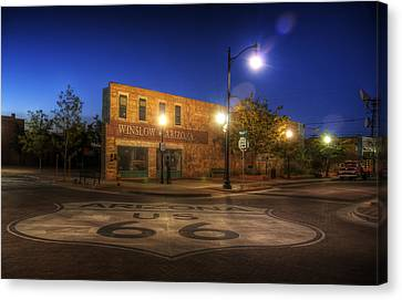 Eagle Canvas Print - Winslow Corner by Wayne Stadler