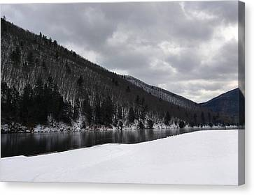 Canvas Print - Winter At Kettle Creek by Bruce Lennon