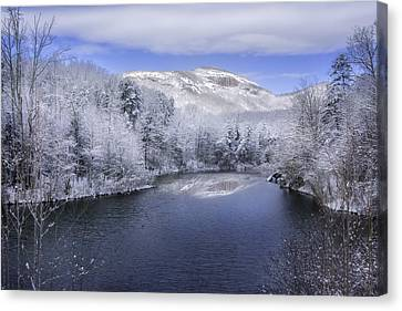 Winter At Table Rock State Park Canvas Print by Johan Hakansson