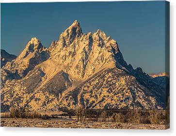 Winter At The Grand Canvas Print by Yeates Photography