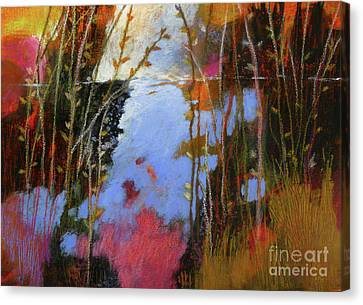 Winter Begins No. 3 Canvas Print by Melody Cleary