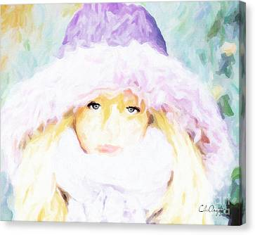 Winter  Canvas Print by Chris Armytage