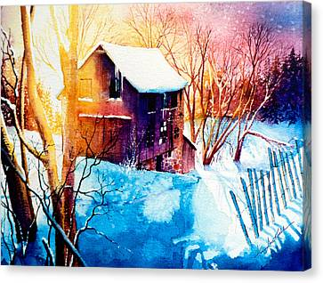 Winter Landscapes Canvas Print - Winter Color by Hanne Lore Koehler