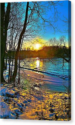 Winter Color Canvas Print by Robert Pearson