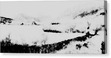 Winter Canvas Print by Contemporary Art