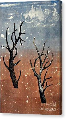 Winter Day Canvas Print by Sarah Loft