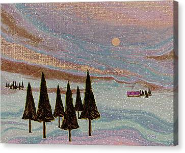 Winter Dream Canvas Print by Gordon Beck