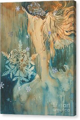 Winter Canvas Print by Elizabeth Carr
