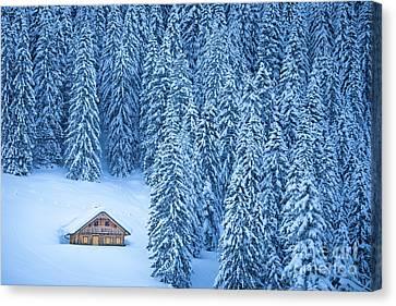 Winter Escape Canvas Print by JR Photography