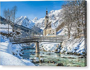Winter Essentials Canvas Print by JR Photography