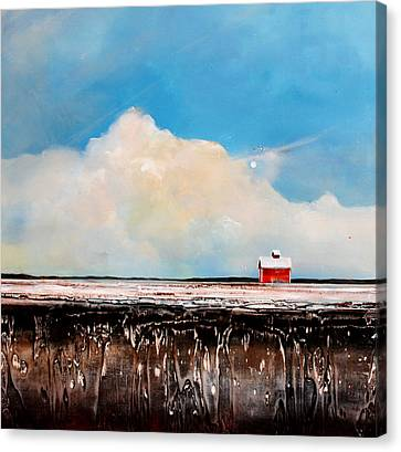 Winter Fields Canvas Print by Toni Grote