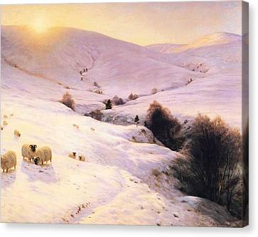 Winter  Canvas Print by Joseph Farquharson