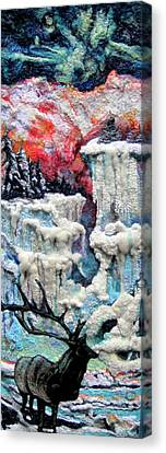 Winter Canvas Print by Kimberly Simon