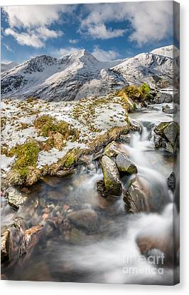 Winter Landscapes Canvas Print - Winter Landscape by Adrian Evans