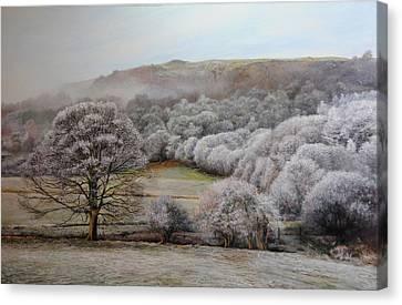 Winter Landscape Canvas Print by Harry Robertson