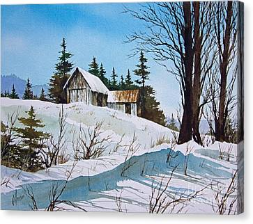Winter Landscape Canvas Print by James Williamson