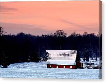Winter Morn Canvas Print