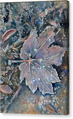 Winter Morn Canvas Print by KC Winters