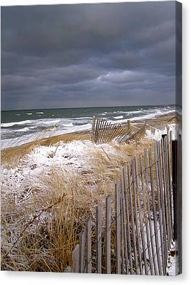 Winter On Cape Cod Canvas Print