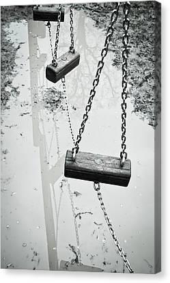 Winter Playground Canvas Print by Tom Gowanlock
