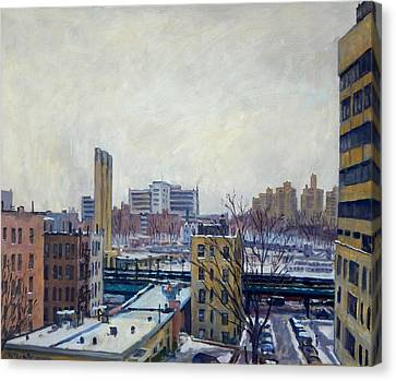 Winter Poem Canvas Print by Thor Wickstrom