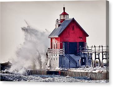 Winter  Rage Canvas Print by James Marvin Phelps