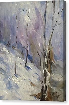 Winter Rage Canvas Print