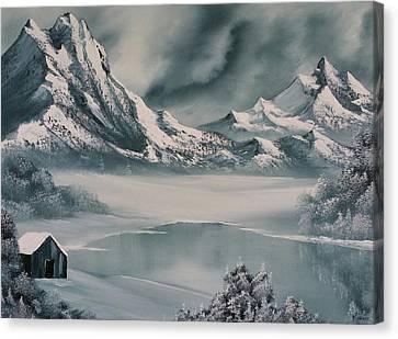 Winter Reflections Canvas Print by John Koehler