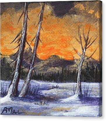 Canvas Print - Winter Solitude #1 by Anastasiya Malakhova