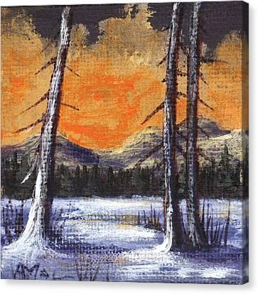 Canvas Print - Winter Solitude #2 by Anastasiya Malakhova