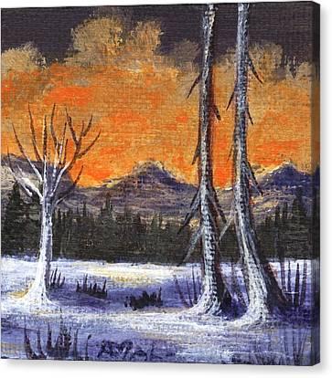 Canvas Print - Winter Solitude #3 by Anastasiya Malakhova