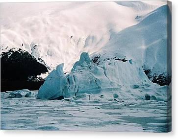 Winter Soltice Alaska  Canvas Print by Judyann Matthews