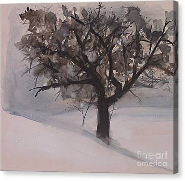 Winter Tree Canvas Print
