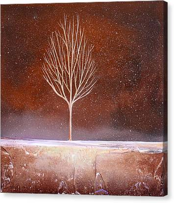 Winter Tree Canvas Print by Toni Grote