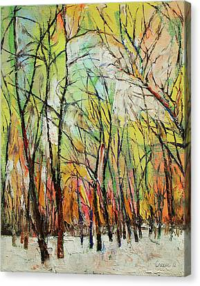 Winter Landscapes Canvas Print - Winter Trees by Michael Creese