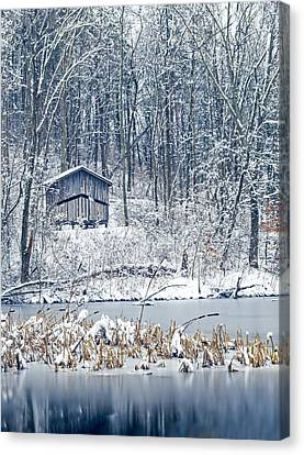 Winter Wonderland 1 Canvas Print by SharaLee Art
