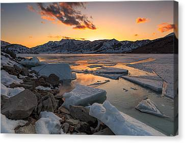 Winter Wonderland Canvas Print by Johnny Adolphson