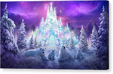 Illustrations Canvas Print - Winter Wonderland by Philip Straub