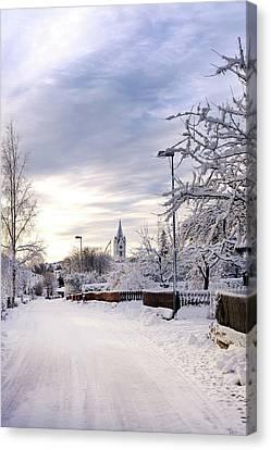Winter Wonderland Redux Canvas Print