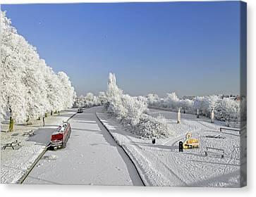 Winter Wonderland Canvas Print by Rod Johnson