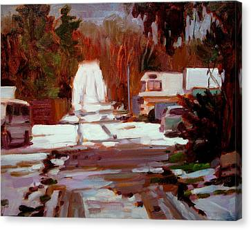 Winterbego Canvas Print by Brian Simons
