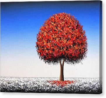 Winter's Edge Canvas Print by Rachel Bingaman