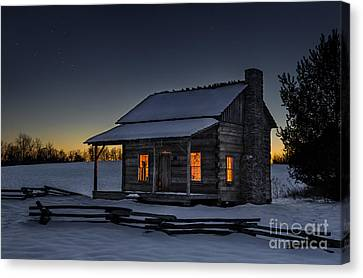 Winters Refuge Canvas Print