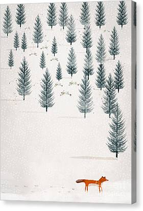Winters Tale Canvas Print by Bri B