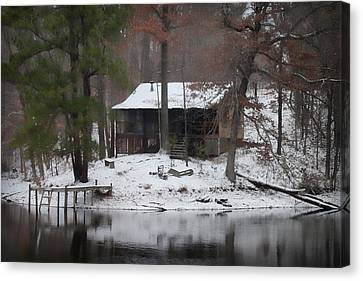 Winters Touch - Best Seller - Artist Cris Hayes Canvas Print by Cris Hayes