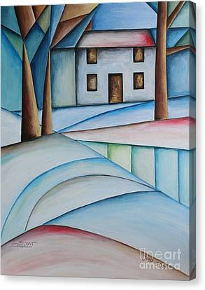 Wintertime Canvas Print by Jutta Maria Pusl