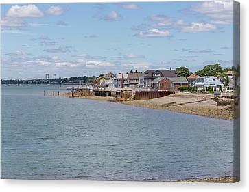 Winthrop From Deer Island Canvas Print by Brian MacLean