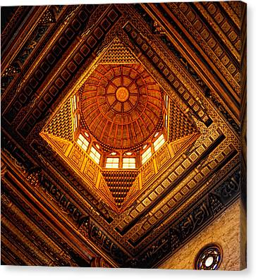 Al Ghuri Dome Canvas Print by Nigel Fletcher-Jones
