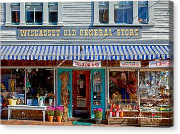 Wiscasset General Canvas Print by Susan Cole Kelly