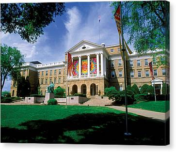 Wisconsin Bright Colors At Bascom Canvas Print by UW Madison University Communications